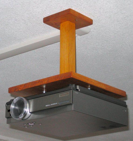 Support plafond diy - Installation videoprojecteur au plafond ...